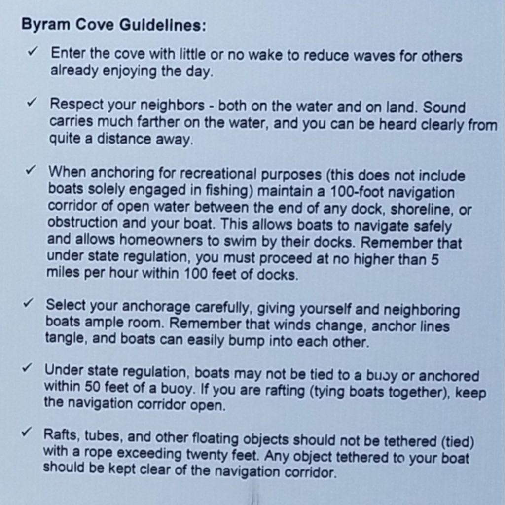 Bryam Cove Guidelines